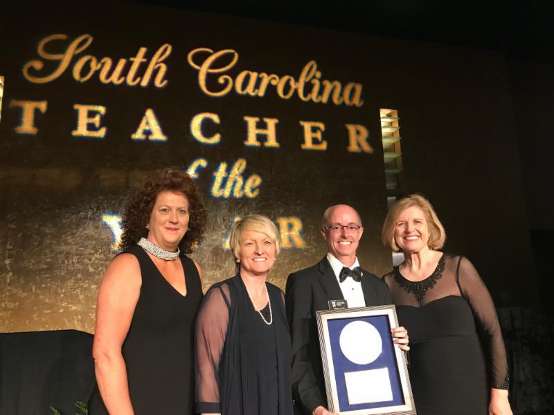 Mr. Maxey South Carolina State Teacher of the Year