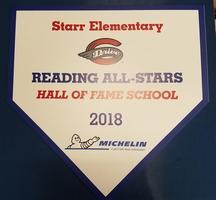"Starr Students Receive ""Top Performer"" and ""Hall of Fame"" Awards"