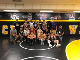 Crescent Wrestlers work hard over summer and have great success at camp!