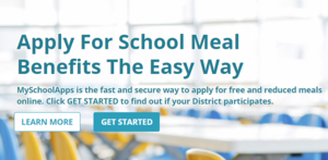 The Free & Reduced Lunch application is now ONLINE!
