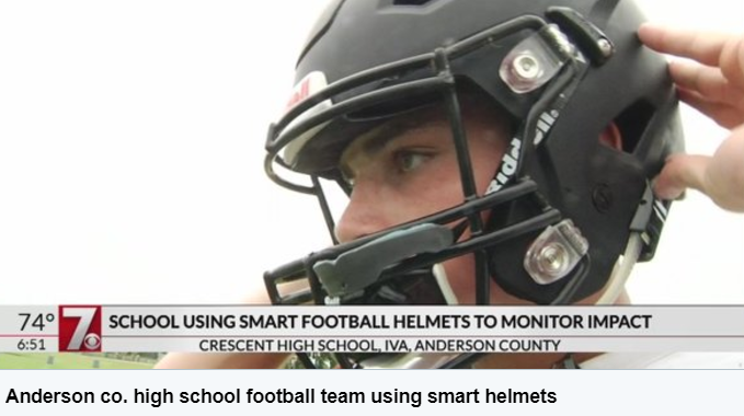 Smart Helmets Monitor Tiger's Impact