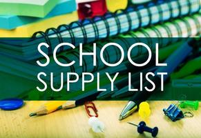 Crescent School Supply List 18-19