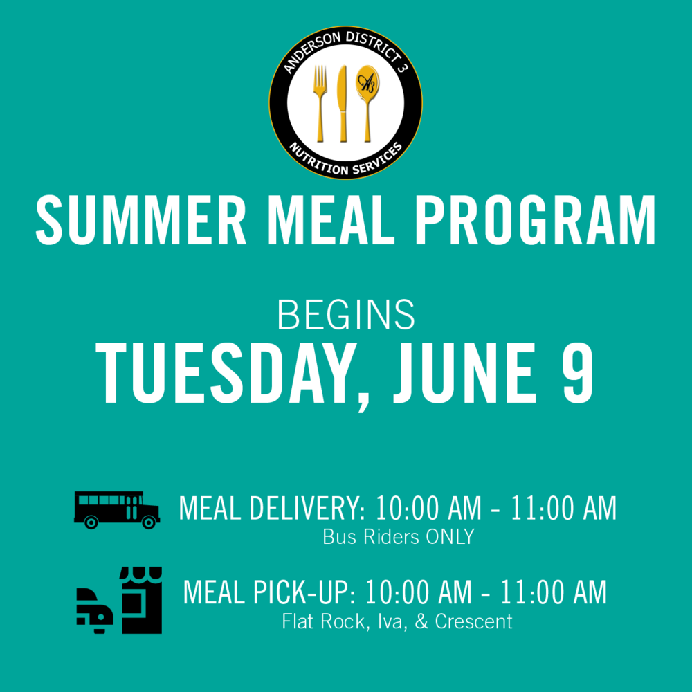 June Meal Program Sign-Ups are Open!
