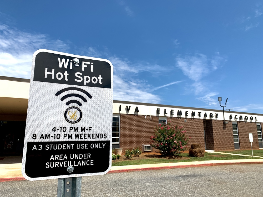 Anderson 3 Pioneers Wi-Fi Hot Spot Program