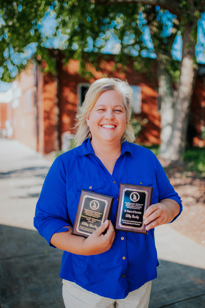 Abby Busby Named A3 Support Staff of Year!