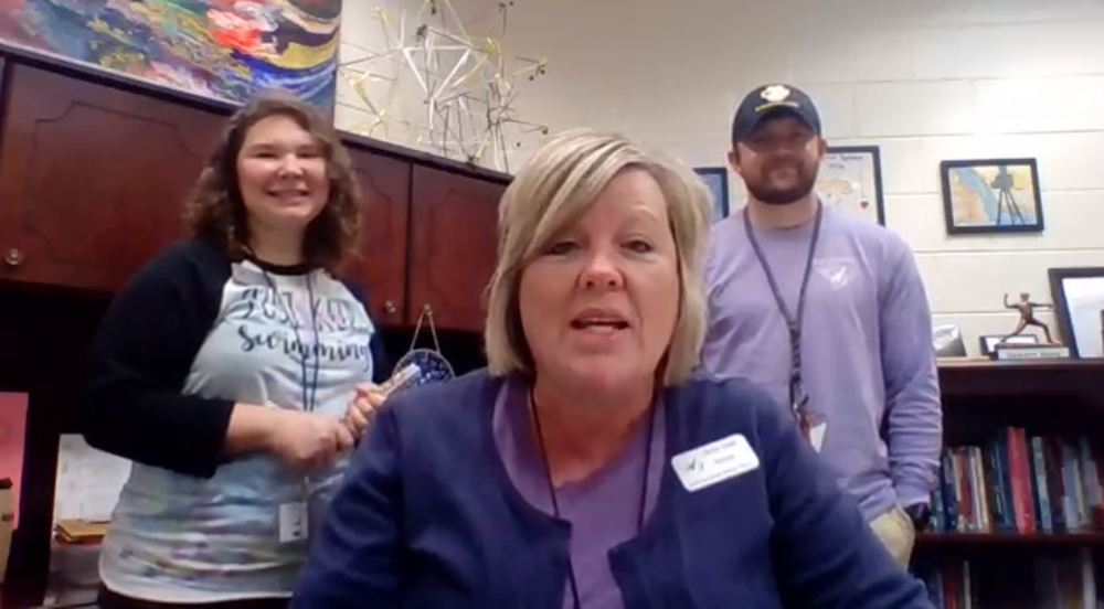 Mrs. Dodd, Mr. Powell and Mrs. Lollis Share Morning Announcements for March 26th