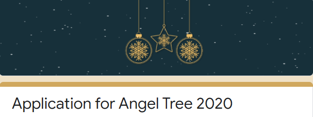 Angel Tree Applications Now Available