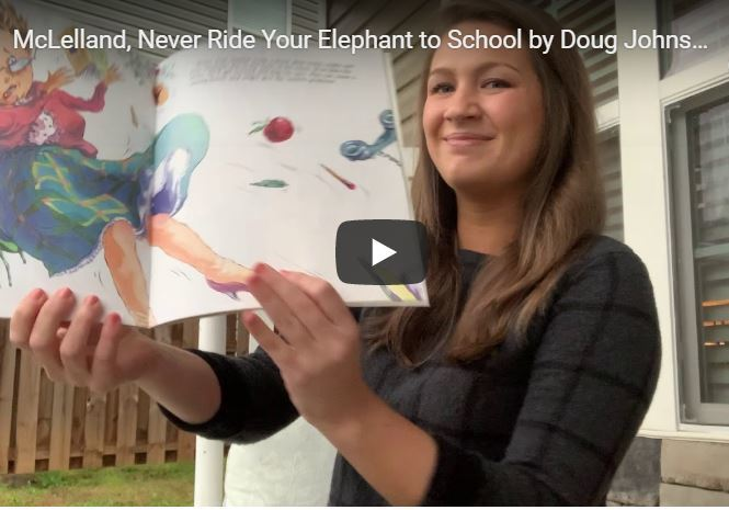 Never Ride Your Elephant to School by Doug Johnsonug