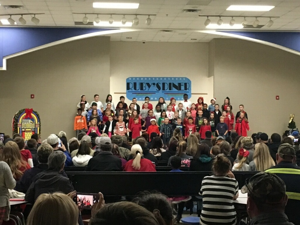 3rd Grade Students Perform in Christmas Program