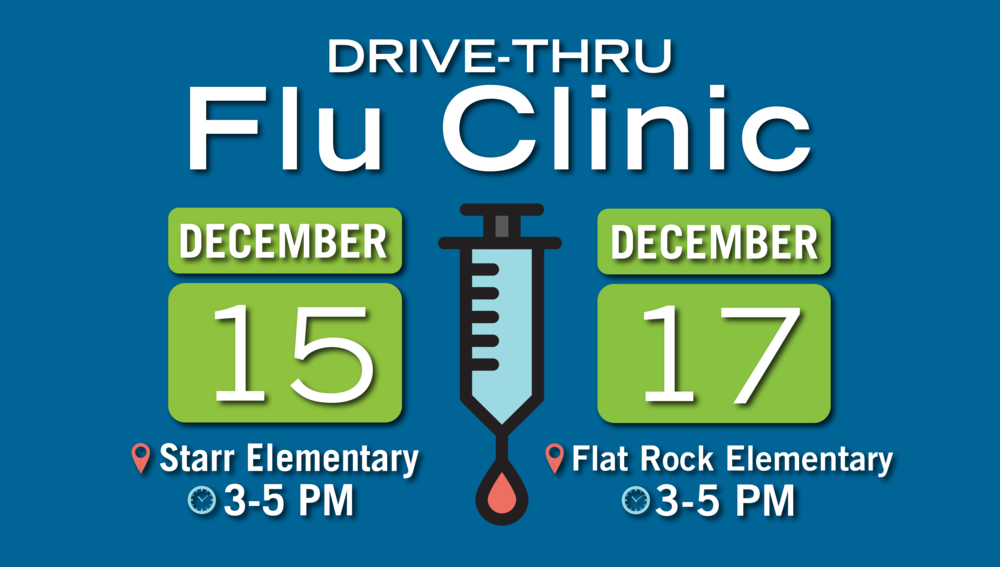 DHEC to Host Drive-Thru Flu Clinics at Two A3 Schools