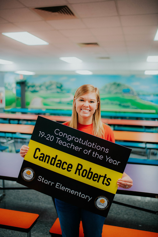 Candace Roberts Named Starr Teacher of the Year!