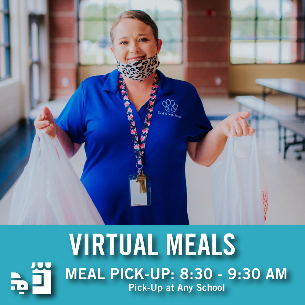 Virtual Student Meals Now Available!