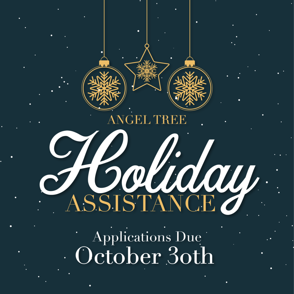 Holiday Assistance Applications Now Open!
