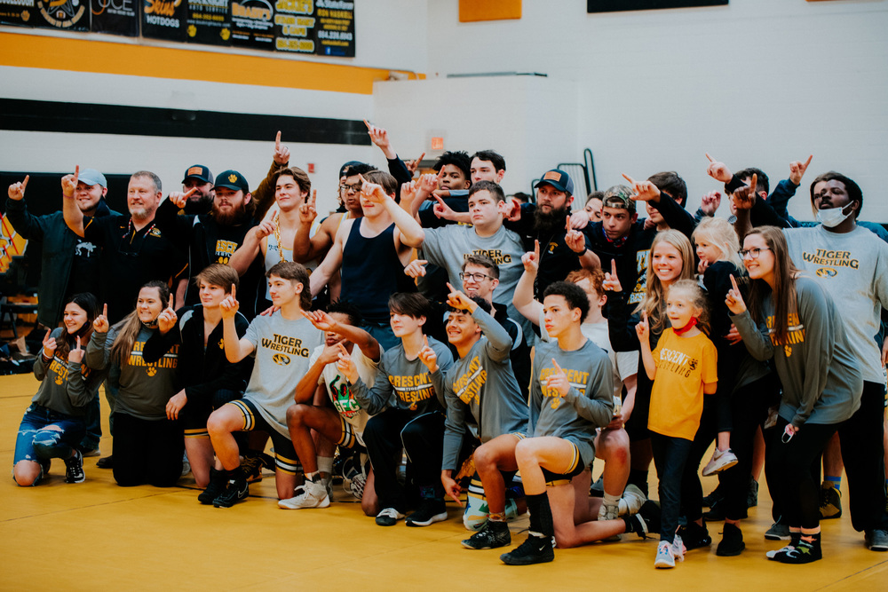 Crescent Wrestling Takes Down Ninety Six, Advances to State Final 🏆