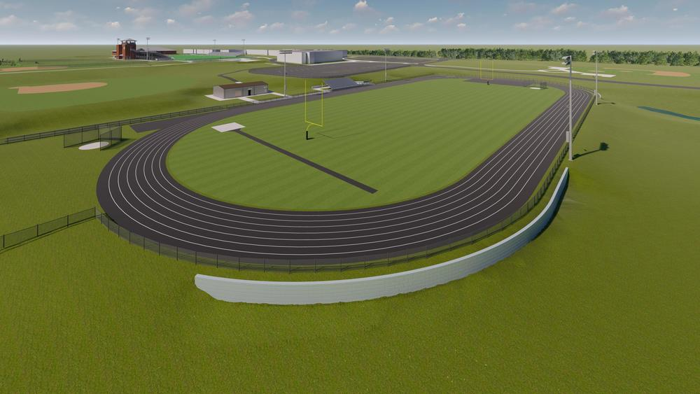 Construction Begins on Track & Field Complex