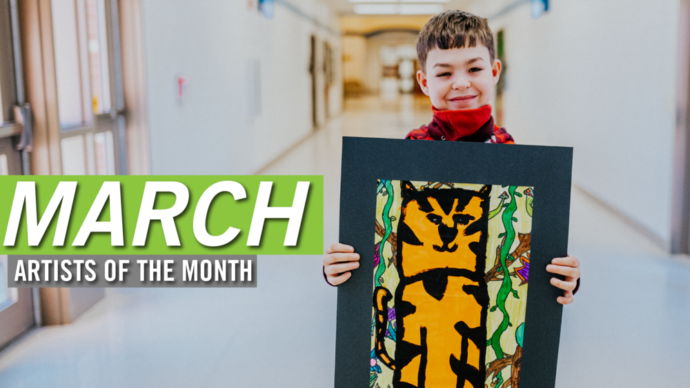 March Artists of the Month