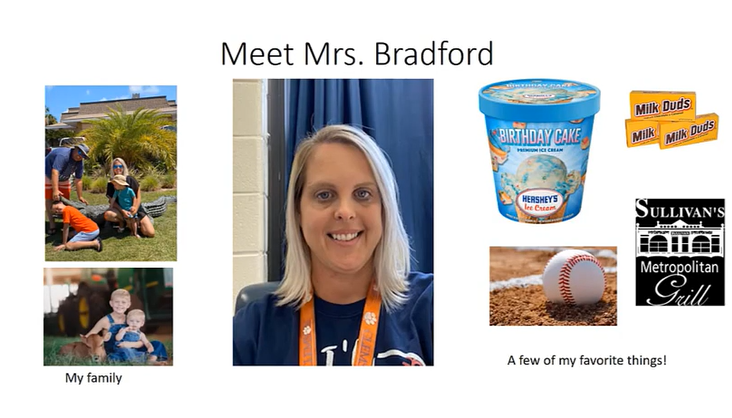 2nd Grade - Bradford - Meet the Teacher
