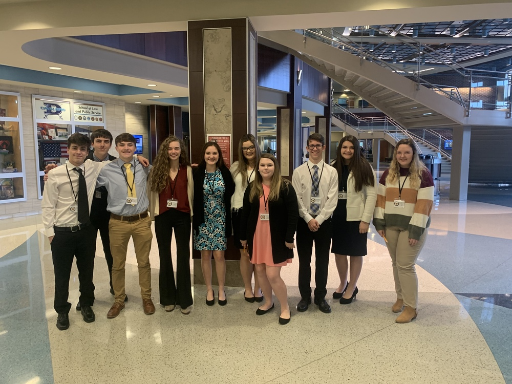 Crescent FBLA Heads to State!