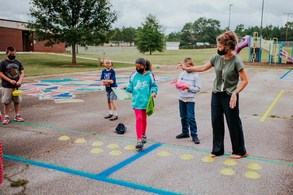 UFCU Teacher Dream Grant Creates New Instructional Space at Iva Elementary