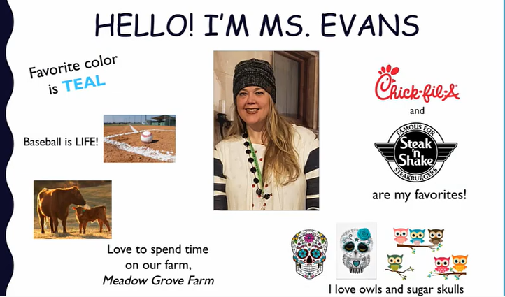 2nd Grade - Evans - Meet the Teacher