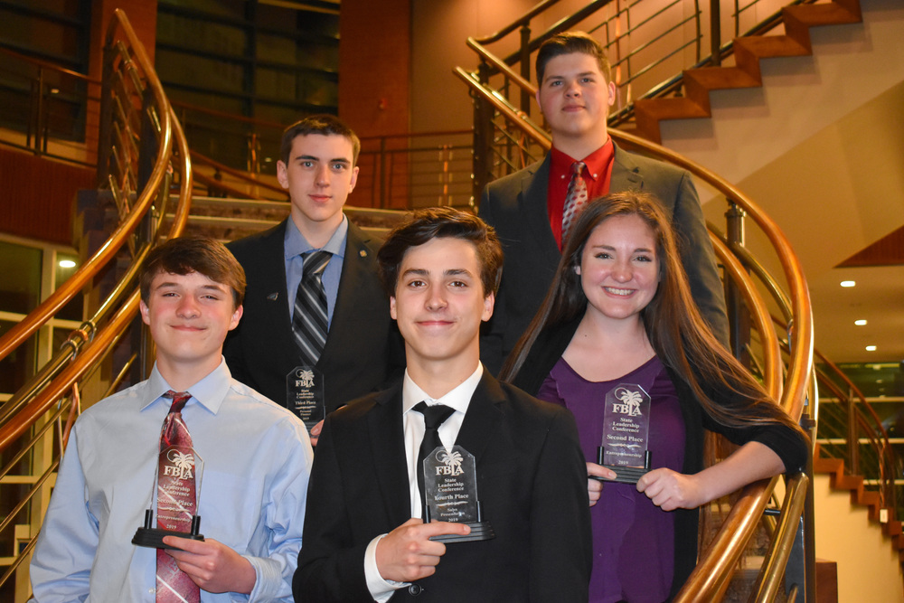 FBLA Students on the Road to Nationals