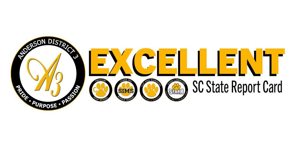 4 out of 5 Anderson 3 Schools Receive Excellent Ratings on SC State Report Cards