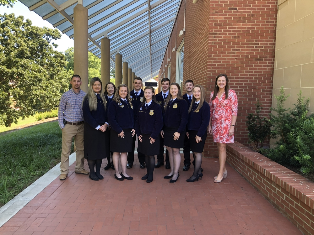 Crescent FFA chapter of Iva, SC, named 3 Star Chapter for 2019 National Chapter award by National FFA Organization