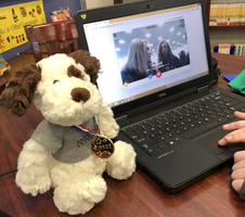 CHS Teacher Cadet Mascot attends iTeach Conference