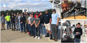 Crescent High School Students Visit BMW