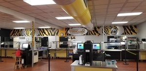 Crescent High School Cafeteria