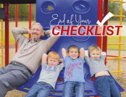 Before you sit back and relax, don't forget to review our end-of-school checklist!
