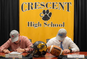 Multi-Sport CHS Seniors Sign to Play College Football