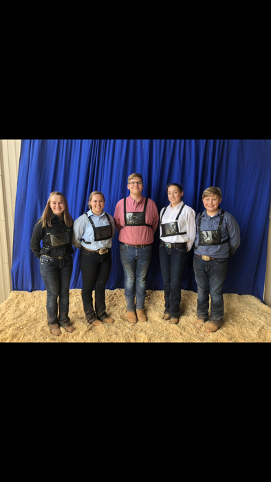 Crescent Show Team: Hannah Wooten, Emily Wilson, Nick Bowman, Michaela Herring, and Brent Erwin.
