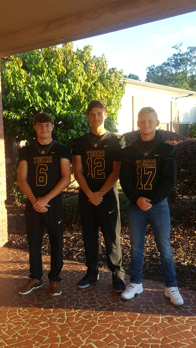 Senior Mason Johnson, Junior Hayden Ruff, and Sophomore Clay Rebrick!