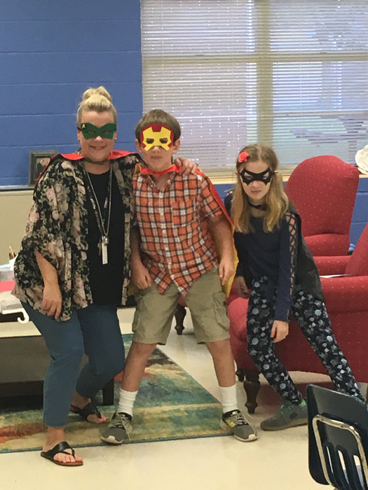 Super readers at Iva Elementary