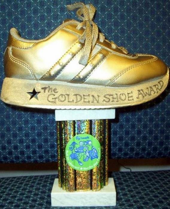 Tiger Trot Golden Shoe Award