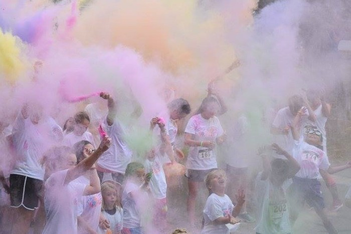 Tiger Trot Color Run