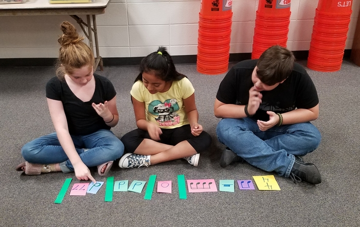 Fifth grade rhythmic patterns