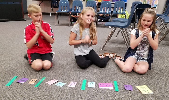 Fifth grade rhythmic patterns #2