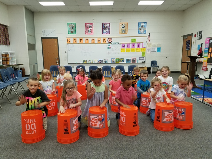 K5 bucket drums