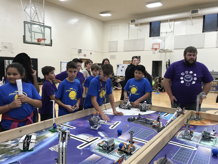 Teams compete for Robotics Competition