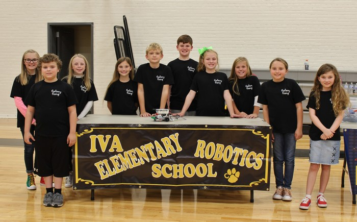 "Iva Elementary's Robotics Team, ""The Galaxy Gang"""