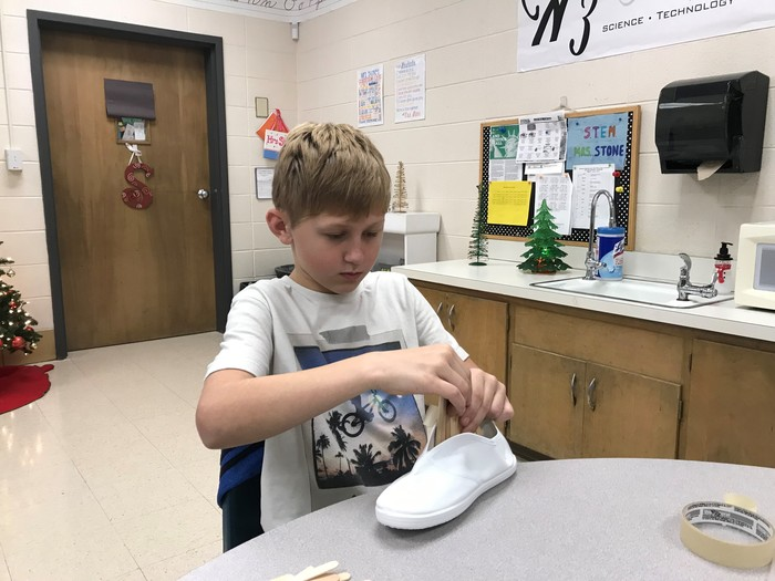 STEM desert shoe project