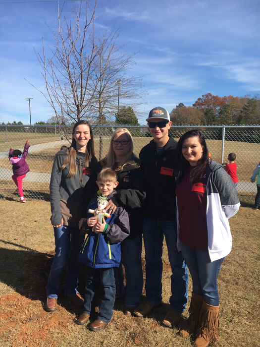 Tree planted at Iva Elementary in memory of Tim Kelley.