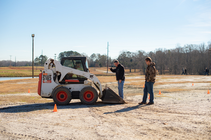 Skid-steer training