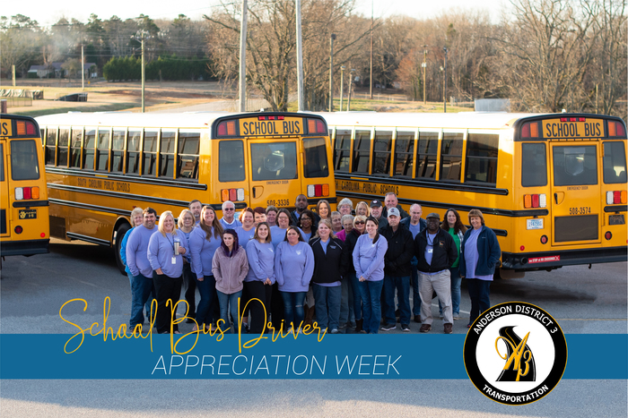 School Bus Driver Appreciation Week