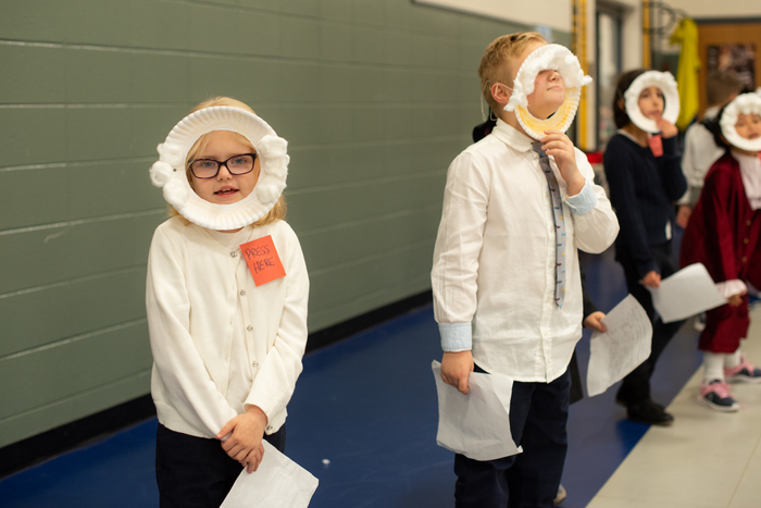 Starr 2nd Grade Wax Museum.