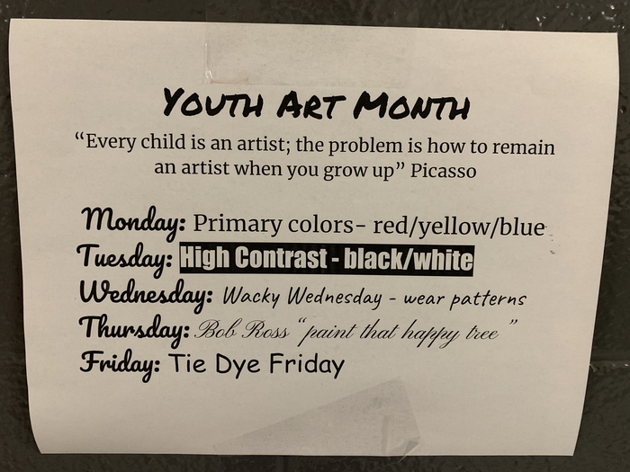 Youth Art Week