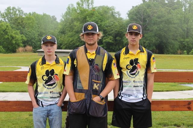 Team shooters were Eric Brown, JD Worley, and Logan Shaw