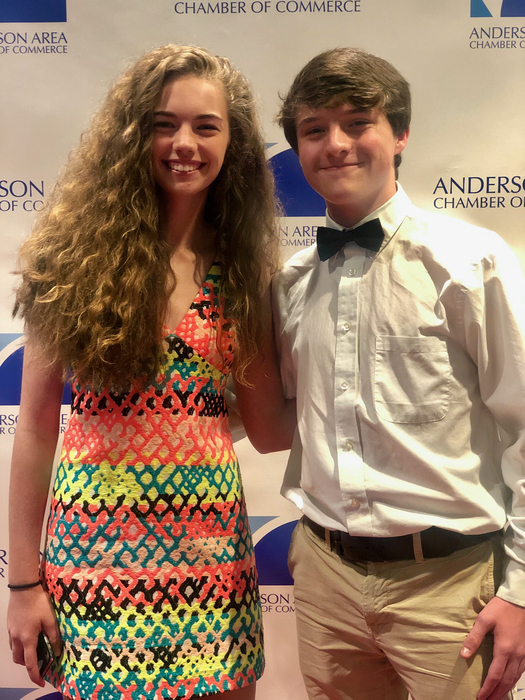 Junior Leadership Anderson Recipients.